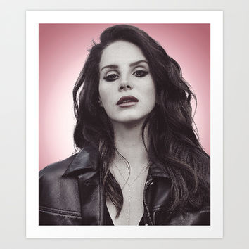 DEL REY LANA Art Print by Hands in the Sky