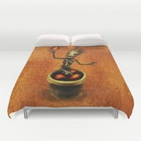 Groot Duvet Cover by Anna Shell