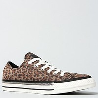 WOMEN'S Converse The Chuck Taylor All Star Side Zip Rand Sneaker in Leopard