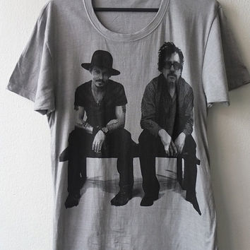 Johnny Depp tim Burton Movie Film Rock T-Shirt   M