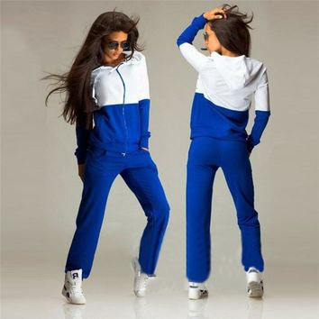 Women's Sports Suits Fitness Yoga Set Women Sportswear Tracksuit Sport Wear For Female Gym Dance Running Jogging Clothing Pant