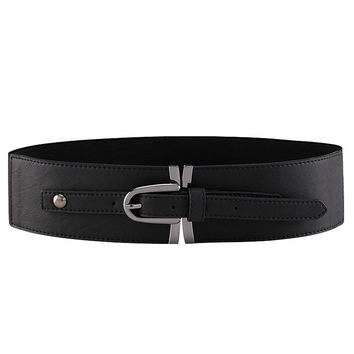 Buckle Elastic Girdle Belt