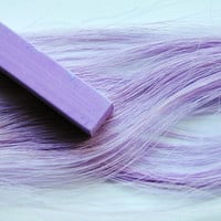 LILAC PURPLE - Hair Chalk // Single Stick Tint // Purple Dip Tie Dye Style // Boho Hipster Emo Scene Pastel Set // Safe for Human Hair