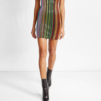 Bead Embellished Mini Dress - Balmain | WOMEN | US STYLEBOP.COM