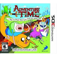 Nintendo 3DS - Adventure Time: Hey Ice King! Why'd you steal our garbage?!! - Walmart.com