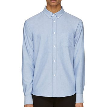 Band Of Outsiders Light Blue Classic Oxford Shirt