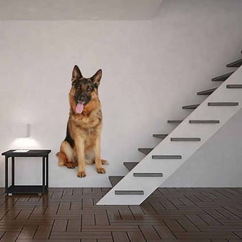 dog wall Decals dog wall decor dog Full Color wall Decals Animals wall Decals veterinary clinic decor Home Decor for kids room cik2223