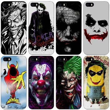 Joker Batman The Killing Joke Black Plastic Case Cover Shell for iPhone Apple 4 4s 5 5s SE 5c 6 6s 7 Plus