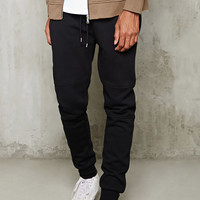 Tiered-Stitch Joggers