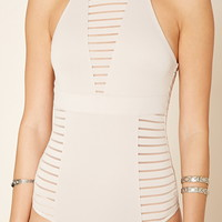 Shadow Stripe Bodysuit