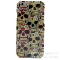 """Printed graphic Elephant, Skull  Ape, Owl fitted TPU case for iPhone 6S 4.7"""""""