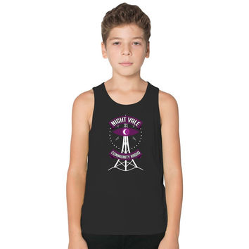 Night Vale Community Radio Kids Tank Top