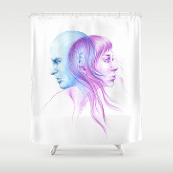 Directions Shower Curtain by EDrawings38