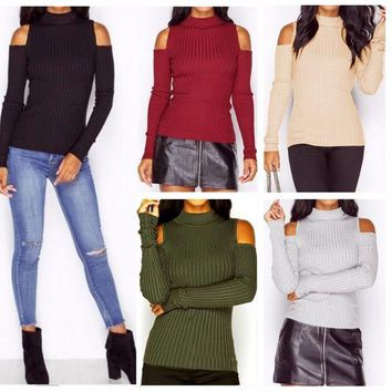 VLX2WL Strapless Knit Winter Stylish Tops [14117208084]