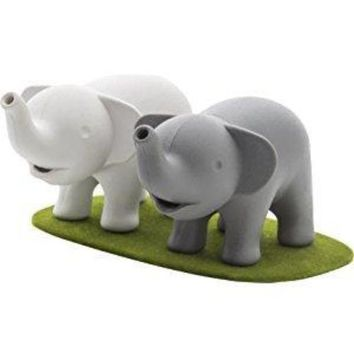 Elephant Pair Salt & Pepper Shakers