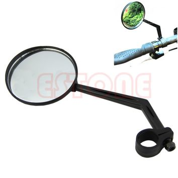 Rotatable Bicycle Road Bike Handlebar Back View Convex Mirror Glass Rearview