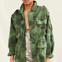 Vintage Camo Military Jacket - Urban Outfitters