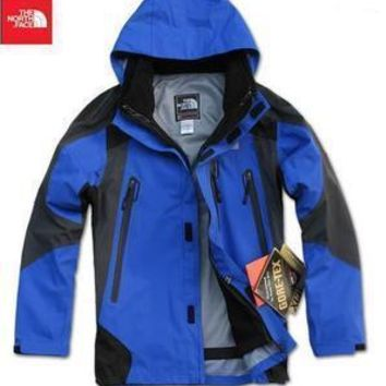 The North Face Outdoor three-layer pressure rubber two sets of Jackets mens