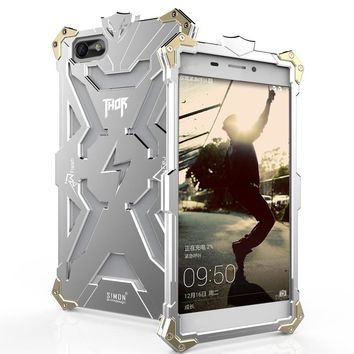 honor 4x Original Design Armor Heavy Dust Metal Aluminum THOR IRONMAN protect phone bag case cover for Huawei honor acer 4x case