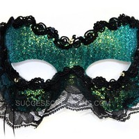 Bleak Hand-Painted Scary Masquerade Mask