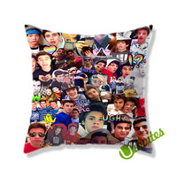 The Boys Magco Collage Square Pillow Cover
