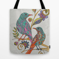 Everyday is a second chance Tote Bag by Valentina Harper