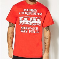 Christmas Vacation Sh#@%er Was Full T shirt - Spencer's