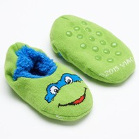 Teenage Mutant Ninja Turtles Leonardo Slippers - Toddler Boy (Green)