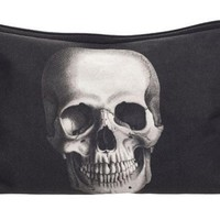 Anatomical Skull Black & White Pouch Bag Makeup Cosmetic Travel