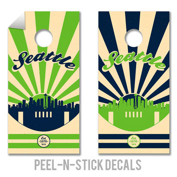 Seattle Seahawks Decals