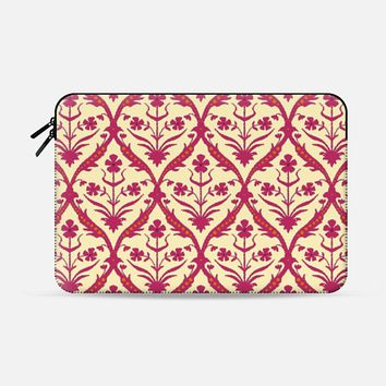 "Oshma trellis ikat Macbook Pro 13"" sleeve by Sharon Turner 