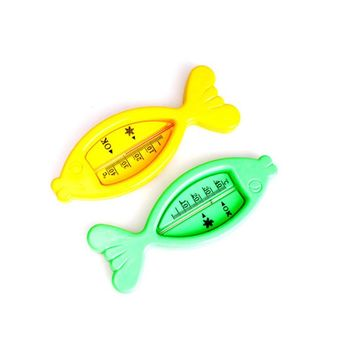Baby Care Bath and Shower Water Thermometers Plastic Float Baby Boy Girl Bath Toy Tester Kid Floating Fish Cute