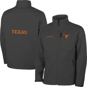 Texas Longhorns Columbia Ascender Bonded Softshell Jacket – Gray