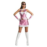 Mighty Morphin Power Rangers Pink Ranger Deluxe Costume - Adult (Blue)