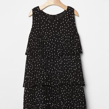 Gap Girls Polka Dot Tier Dress