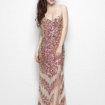 Primavera Couture Long 9849 Primavera Couture Prom Prom Dresses, Evening Dresses and Homecoming Dresses | McHenry | Crystal Lake IL