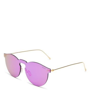 Illesteva Leonard Mirrored Mask Sunglasses, 47mm | Bloomingdales's