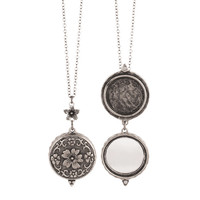 Spring Mirror Locket