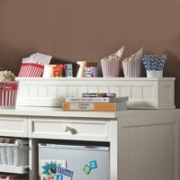 Beadboard Snack Bar Hutch