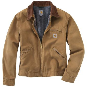 Carhartt Weathered Duck Detroit Jacket - Men's