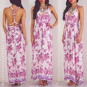 Fire Within Multi Way Maxi Dress