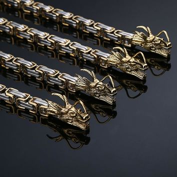 Gold Self Defense Weapon Martial Arts Hand Bracelet Chain Outdoor Camping Hiking Multi Tools