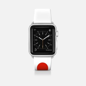 Japan flag - Patriot collection Apple Watch Band (42mm)  by WAMDESIGN | Casetify