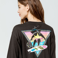 MAUI AND SONS Arnold Womens Crop Tee