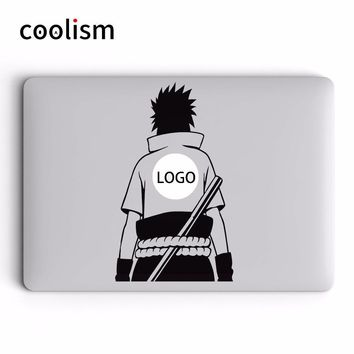 Naruto Sasauke ninja Sasuke Back Anime  Laptop Sticker for Macbook Pro Decal Air Retina 11 12 13 15 inch Mac Acer Surface Notebook Skin Sticker AT_81_8