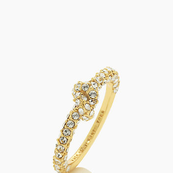 Kate Spade Sailor's Knot Pave Ring