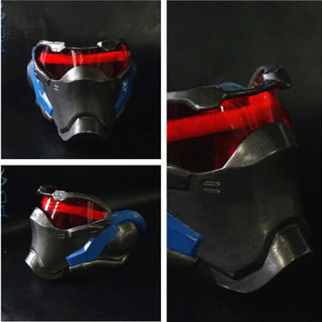 Hot New Classic Game 76 Soldiers Cosplay Costumes Accessories Mask Props Helmet High-end custom