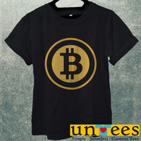 Bitcoin logo Men T Shirt