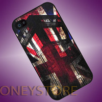 Tardis Doctor Who England - Photo Print for iPhone 4/4s, iPhone 5/5C, Samsung S3 i9300, Samsung S4 i9500 Hard Case