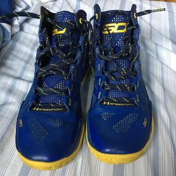 Under Armour Steph Curry 2 Dub Nation Basketball Shoes Men's 8.5